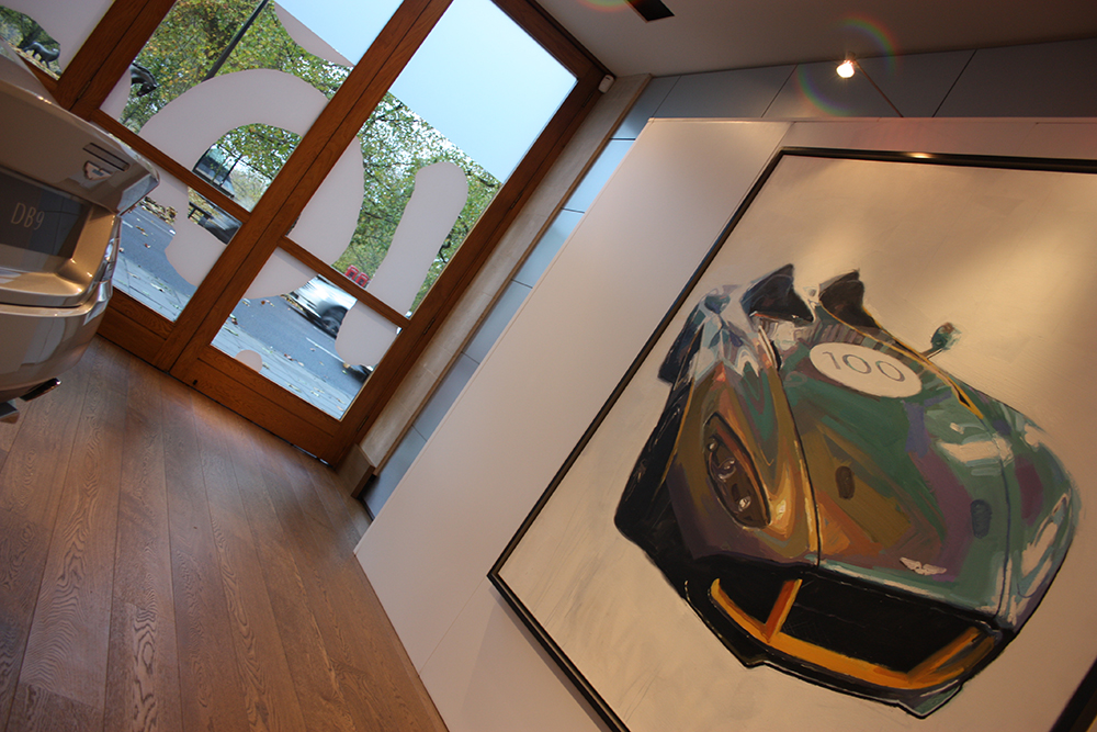 Aston Martin, Centenary Art Exhibition