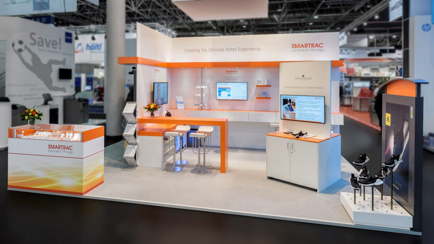 SMARTRAC Messestand
