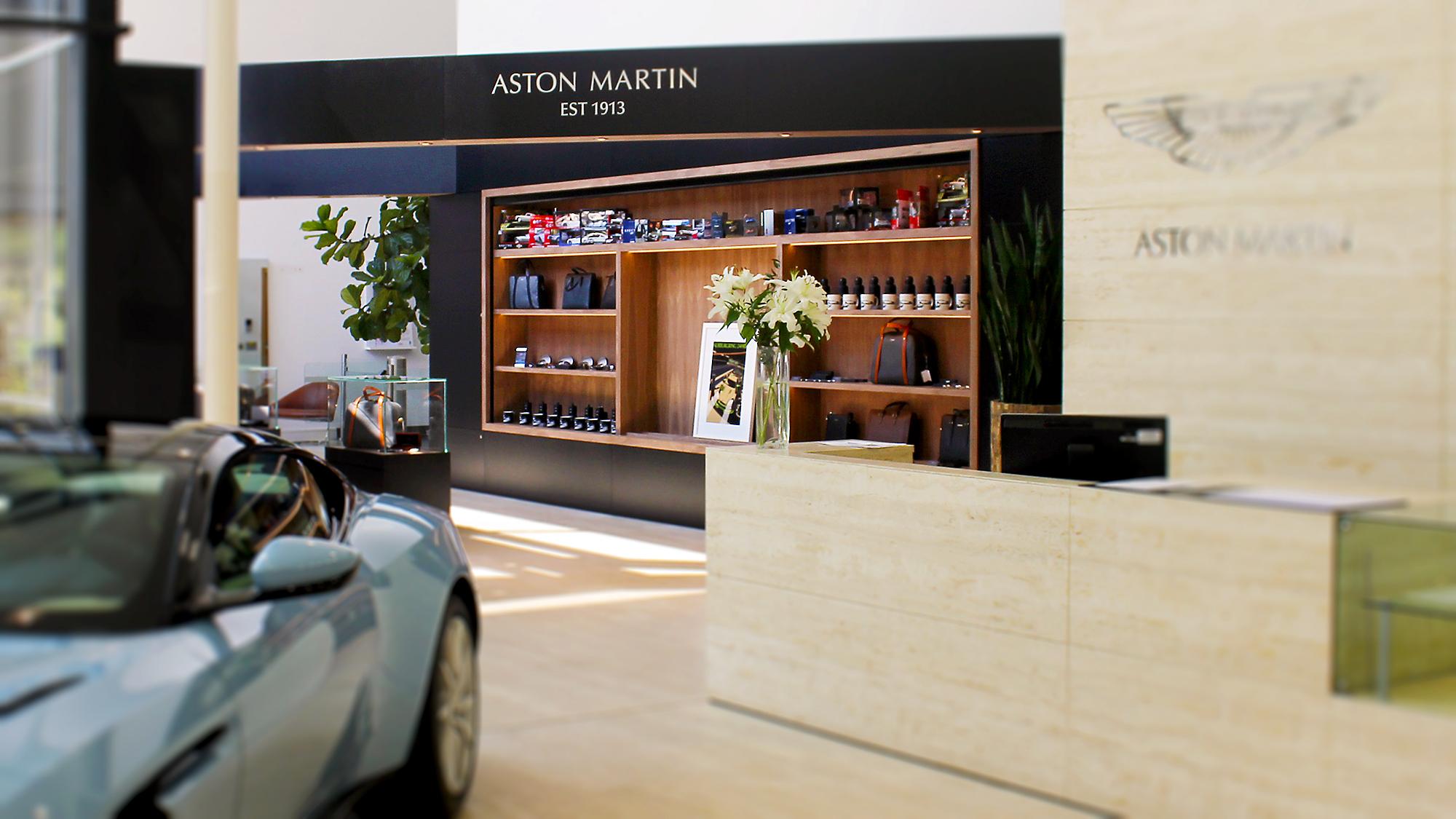 Aston Martin Gls Design